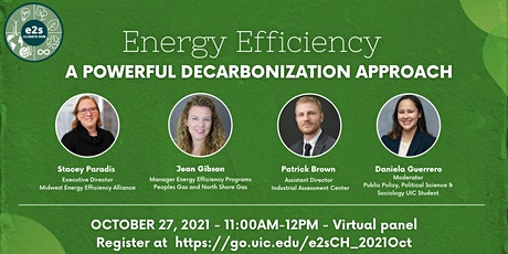 Energy Efficiency Virtual  Panel - A Powerful Decarbonization Approach tickets