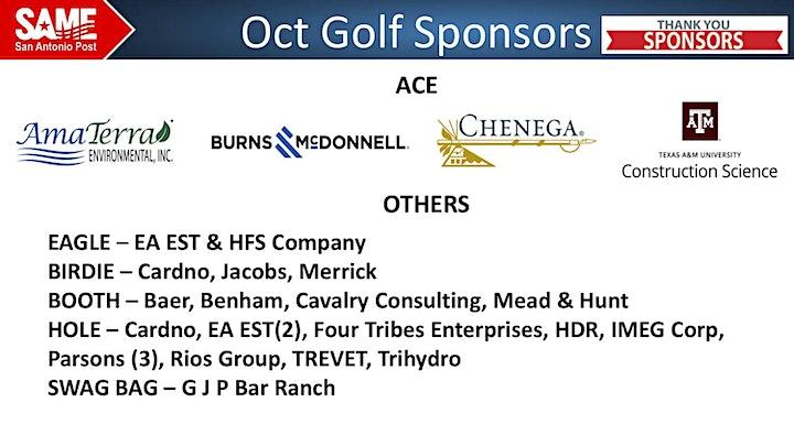 October Centennial Golf Tournament image