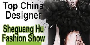 CIFW Top Designer from China Sheguang Hu Legacy Fashion...