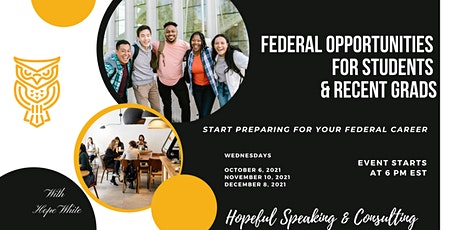 Federal Opportunities for Students/Recent Graduates (within 2 years) tickets