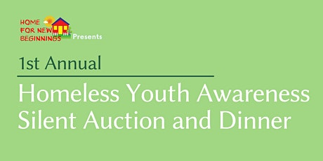 Homeless Youth Awareness Auction and Dinner tickets