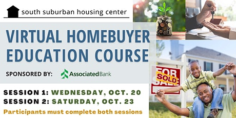 October Virtual Homebuyer Education Course tickets