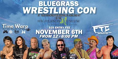 Bluegrass Wrestling Con tickets