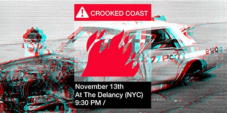 Crooked Coast Live at the Delancey November 13th tickets