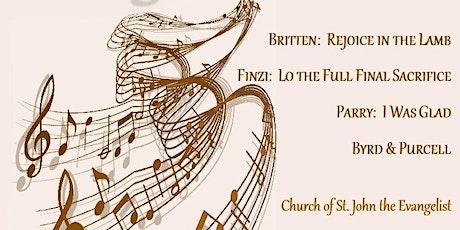 Collegium Singers in Concert - Rejoice! tickets