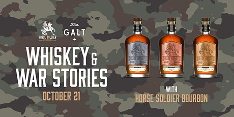 Whiskey & War Stories - Horse Soldier Bourbon Event tickets