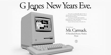 G Jones New Years Eve. Presented By SOMA Entertainment tickets