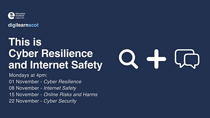 This is Cyber Resilience and Internet Safety tickets