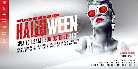 Vegan Halloween Dance Party: All You Can Eat Vegan Food ,October 31st tickets