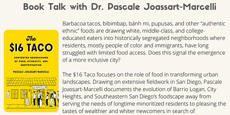 Book Talk: with Dr.  Jossart-Marcelli tickets