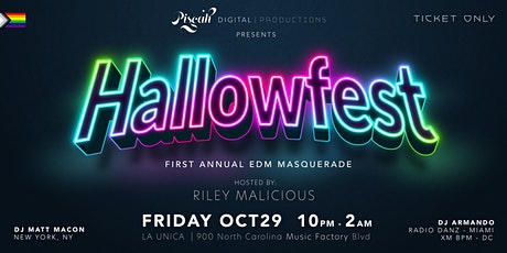 Hallowfest EDM Masquerade Party tickets