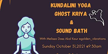 Kundalini Yoga Ghost Kriya and Sound Bath tickets