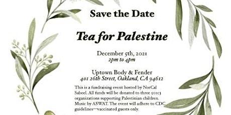 Tea for Palestine tickets