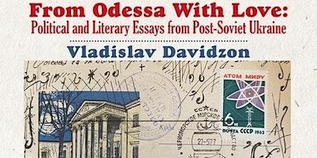From Odessa With Love: Vladislav Davidzon in conversation with Marina Nahum tickets