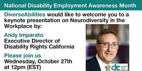 Discussion: Neurodiversity in the Workplace with Andy Imparato tickets