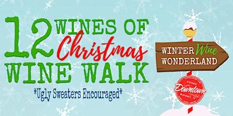 12 Wines of Christmas Wine Walk tickets