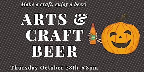 Arts & Craft Beer (Pumpkin Carving) tickets