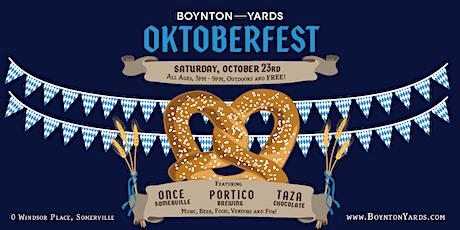 OKTOBERFEST at Boynton Yards tickets