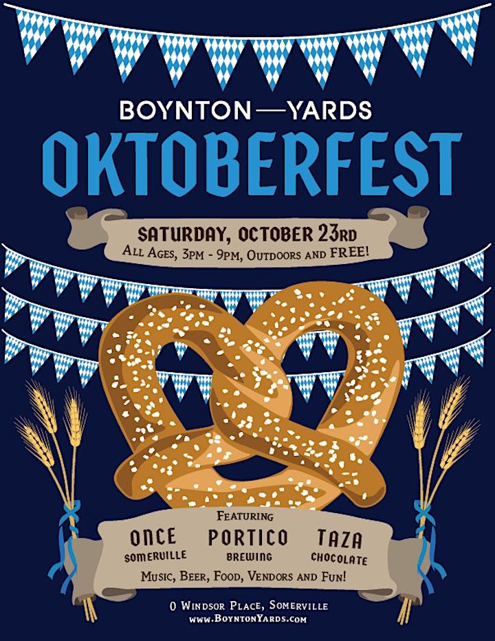 OKTOBERFEST at Boynton Yards image