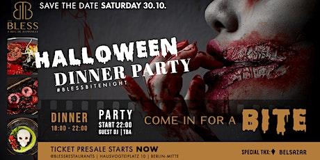 BLESS BITE NIGHT - Halloween Dinner & Party Tickets