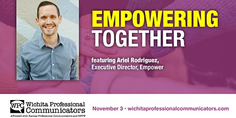 Nov 2021- Empowering Together with Ariel Rodriguez tickets
