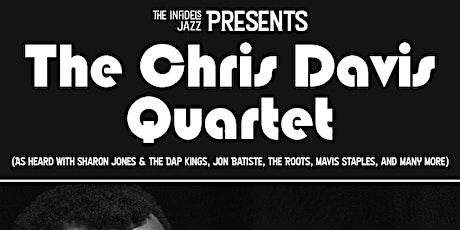 The Chris Davis Quartet at Numbers Cabaret tickets