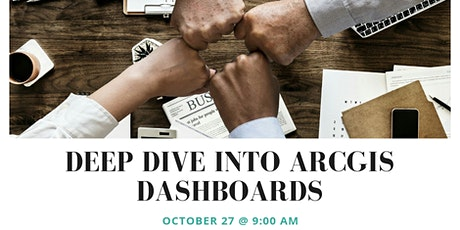 Deep Dive Into ArcGIS Dashboards tickets