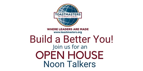 The Art of Evaluation / Noon Talkers Toastmasters Club Open House tickets
