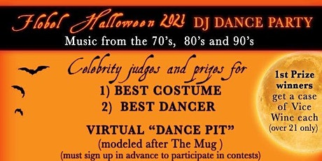 Flobel Halloween Party 2021: DJ Dance Cushing Happy Hour tickets