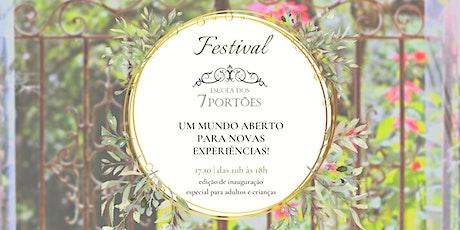Festival Escola dos 7 Portões ingressos