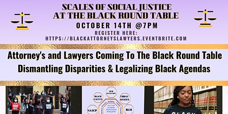 Black Attorney's and Lawyer's At The Black Round Table /Black Agenda tickets