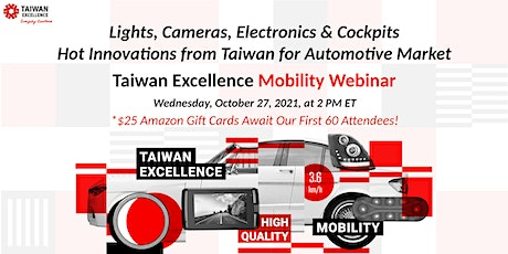 Taiwan Excellence Mobility Webinar tickets