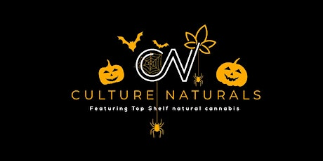 Culture Naturals Happy Halloween Canna Gift Exchange with the Herbal Chiefs tickets