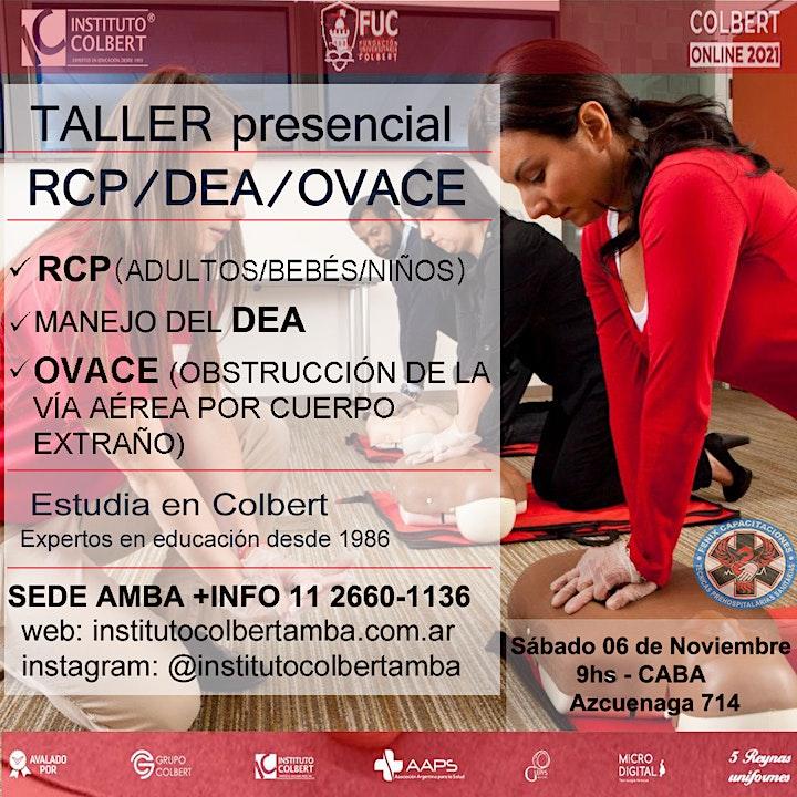 Imagen de Taller RCP, DEA y OVACE