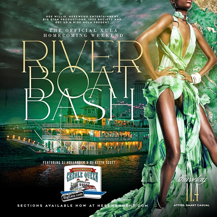 THE OFFICIAL XULA HOMECOMING WEEKEND RIVER BOAT BASH | THURSDAY 11/04/21 | image