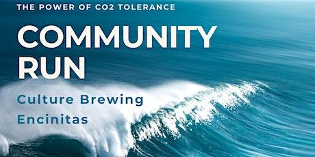 Peak Flow Community Run - Encinitas tickets