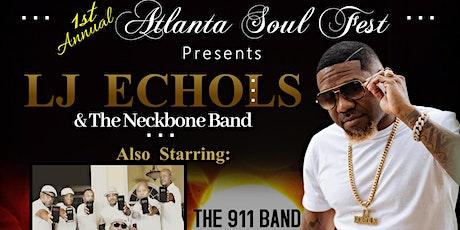 ATLANTA SOUL FEST featuring LJ Echols & Band - Friday, November 5, 2021 tickets