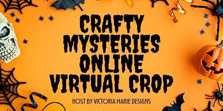 Crafty Mysteries Online Virtual Scrapbooking Crop tickets