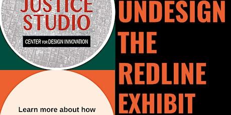 Undesign The Redline Exhibit tickets