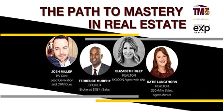 The Path to Mastery in Real Estate tickets