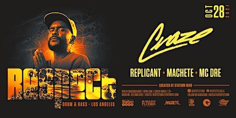 RESPECT DnB presents CRAZE tickets