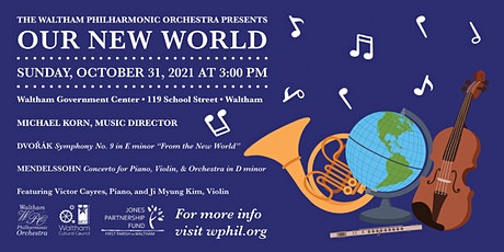 """""""Our New World"""" tickets"""