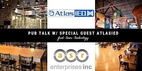 PUB TALK W/ ASR ENTERPRISES & ATLASIED (PHILLY METRO) tickets
