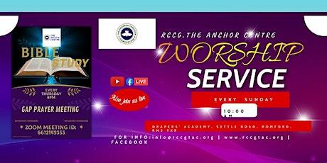 RCCG The Anchor Centre Worship Service tickets