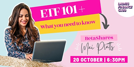 ETFs (Exchanged Traded Funds): What you need to know ! tickets