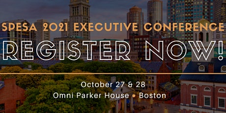 2021 SPESA Executive Conference tickets