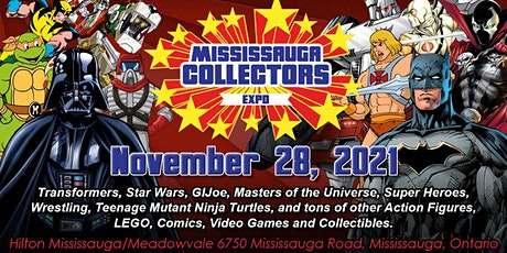 Mississauga Collectors Expo 2021 tickets