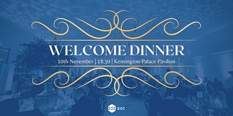 DoCSoc Welcome Dinner tickets