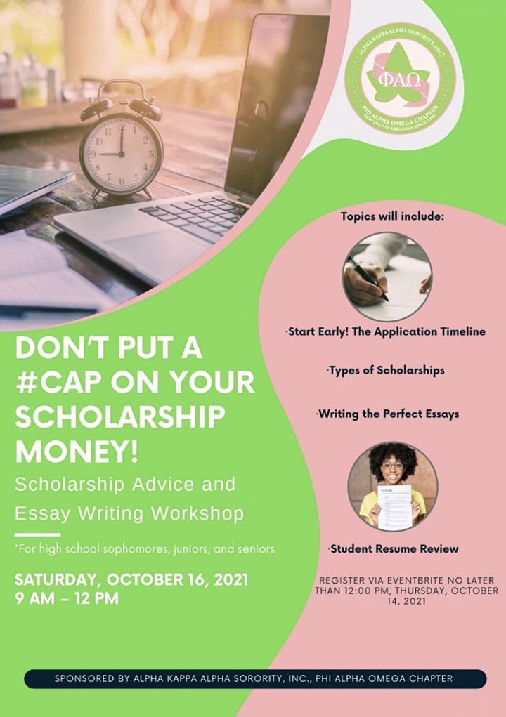 Don't Put a #CAP on Your Scholarship Money image