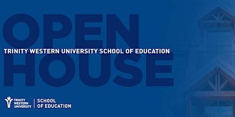 TWU School of Education Open House tickets